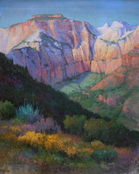 Zion National Park Overlook