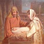 The Nativity 16 x 20 oil br Robert T. Barrett NFS
