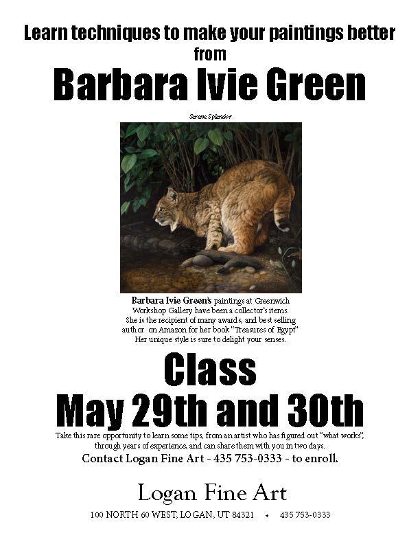 Barbara Ivie Green class