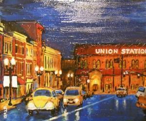 25th Street  20 x 16 acrylic (websize) Craig T. Neilsen $600- Copy