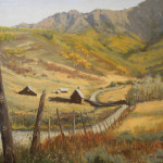 Autumn Rhythm  11x14 Oil  William F. Maedgen $550.00 (2)