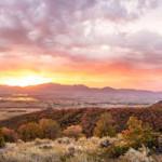 Avalon Sunrise 12 x 48 photo on canvas(websized) Sam Crump $475