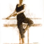Classical dance II 30 x 22 Nupastel on Paper_( websize)_By Robert T. Barrett $2000 - Copy
