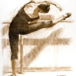 Classical dance IV 30 x 22 Nupastel on Paper_(websize)_ By Robert T. Barrett $2000 - Copy