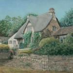 Cotswood Cottage (websize) 30x40 Pastel Linda G Paulsen $765.00