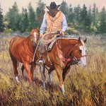 Covering Ground  30x40 Oil ( websize) Keith A Dagley$6000.00