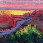De Cheley Sunset Whitney Warnick 24x30 Oil_websize_ $2100.00