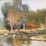 Fall's Whisper Don Miskin 16x12 Oil $750.00