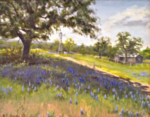 Hill Country William F. Madegen 30x24 Oil NFS