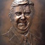 Lee Badger Christopher Yancey 16x20 Hydrocal Bronze NFS