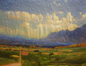 Road From Mount Sterline_16 x 20_ Lucy Peterson Watkins_$300  - Copy - Copy (2)
