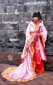 Sichuan Girl 48x30 Oil ( websize ) Theresa Otteson $2800.00