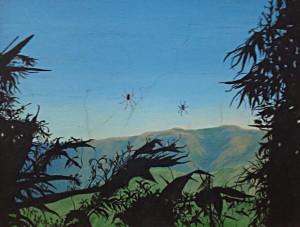 Spider Kemp W Sanders 11x14 Oil NFS