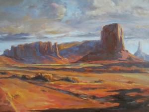 The Hotlands 16 x 20_oil_Scott Bushman $1000-SOLD-