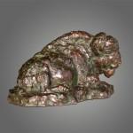 The Old Warrior 6 x 11 x 6 bronze (w) Scott Rogers $2,200