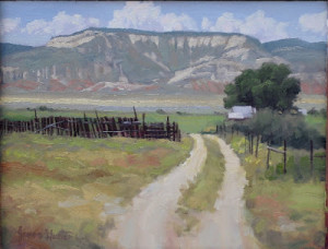 The West Side of the Valley 9 x 12 oil_websize_James Gunter_$435 2015