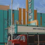 Under Renovation 48 x 24 oil_(W)_ by Brandt Berntson $3,400