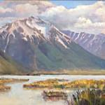 View of Utah Lake Oil_websize_ Mary Jane Grow  $550.00