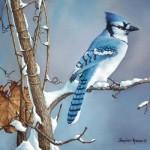 Winter Blues Stephen P Krause 18x24 Oil-websized_ $3500.00