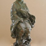 Asian Madonna 30x24 Bronze by Leroy Transfield$4500.00