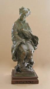 Asian Madonna 30x24 Bronze by Leroy Transfield$4500.00