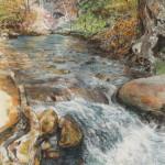Granite Falls 30 x 18 pastel $2,400