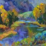 Autumn 11 x 14 oil $950