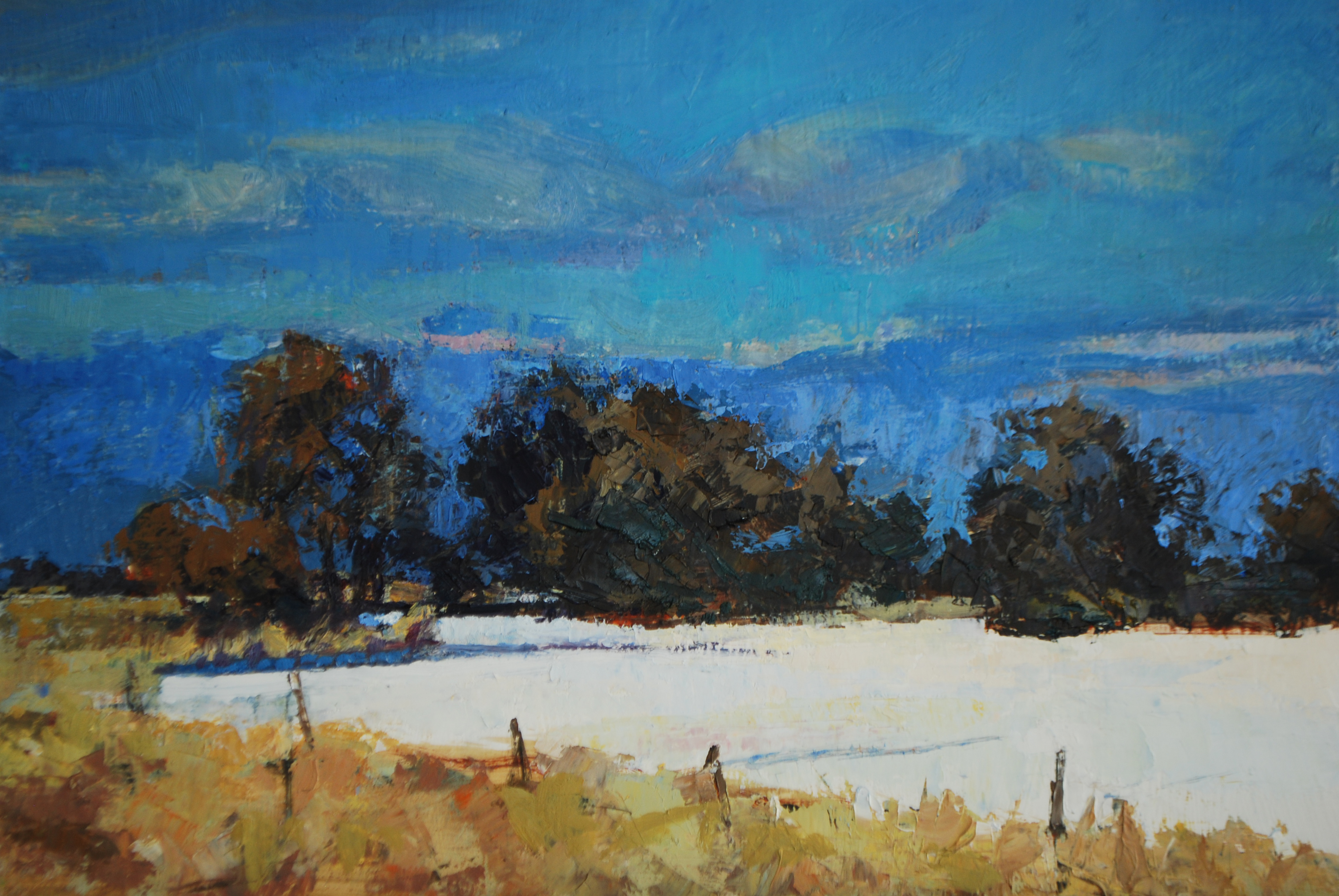 Autumn Snow 11 x 14 oil (2) - Copy