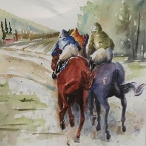 Bottoms Up_ watercolor_Diane Siegfreid_#800