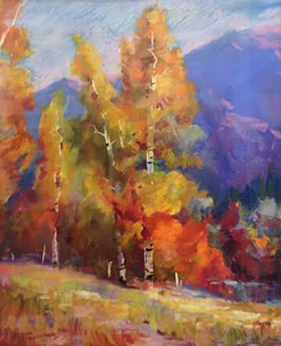 Changing Seasons Ruth Stringham Nordstrom 20x16 Pastel On Wallis $1380.00