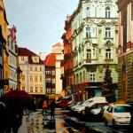 Christmas in Prague_32 x 32 oil_ $2,000 lr (2)