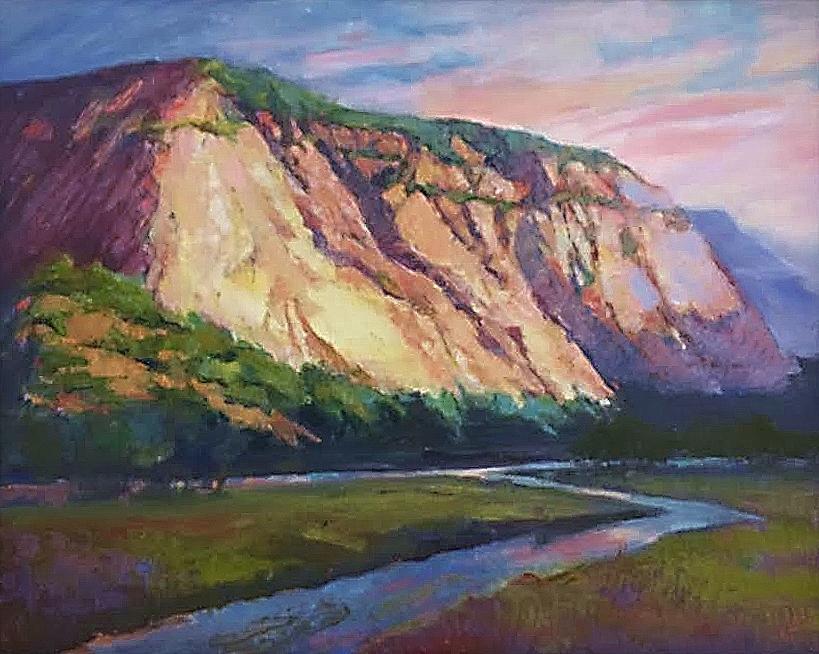 Green River Cliffs 16 x 20 $800 - Copy