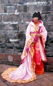Sichuan Girl Theresa Otteson 48x30 Oil $2800.00