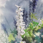 Larkspur Morning_10 x 6.5 watercolor