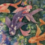 Lyrical peace 14.5 x 11.5 watercolor by Pat Leake $400
