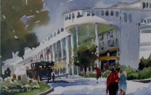 Macinac 2 _watercolor_by Kristi Grussendorf_$300