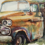 Still Somewhat Shiny 11 x 14 by Sherril Gordon $350