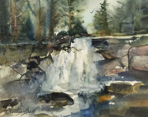 The Hard and Softs of Winter 16 x 18 by Kristine Groll $300