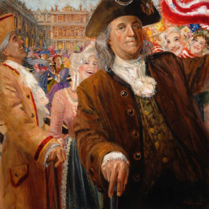 Benjamin Franklin's Miracle Mission by Larry Winborg 17,000 L Winborg II