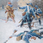 Hope Survives_Battle of Trenton_by  Clark Kelly Price $17,000