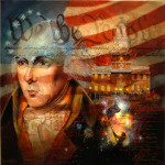 Miracle of Philadelphiaby Larry Winborg 36x36 $17000