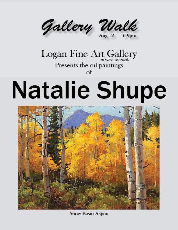 Natalie Shupe Gallery Walk