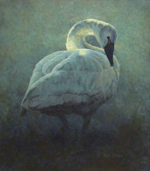 Avian Sonata by Richard K. Jolley 20 x 24 oil $3,100_o