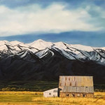Cache Valley Sunrise by Lindsey R Jensen 30x48 oil $2,800