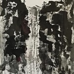 Waterfall by Eiko Anderson 25 x 12.5 Sumi Ink  $900