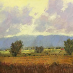 A Change Of Seasons by Jerry Fuhriman 48 x 36 oil $5,900