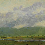 North Pastures 11 x 14 oil priced at $1,250