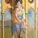 Cache Valley Madonna and Son