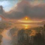 Adam Abrams_ Cotopaxi_oil 20x30_$6,800