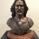 Angela Johnson_ Jesus_10 x 10 x 5 _ Bronze_$3,200